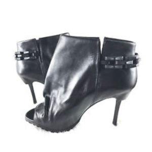 DONALD J. PLINER Lisa Kiltie Stiletto Booties Sz 8